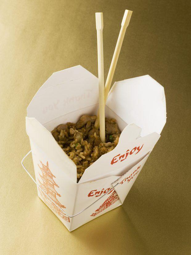 Cómo preparar arroz frito con pollo