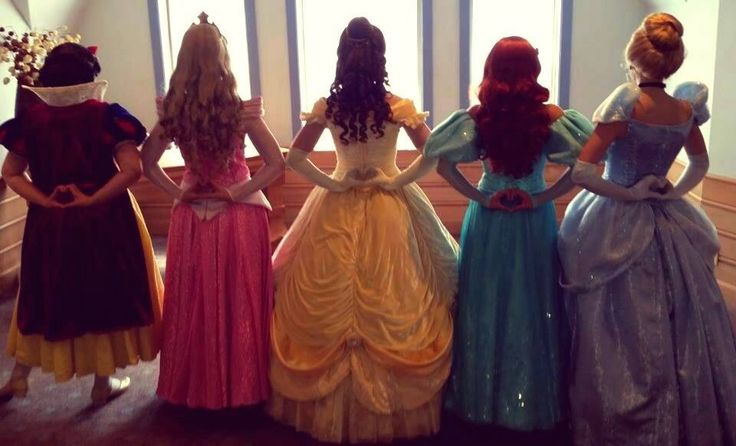 'Little did you know that the Disney princesses were all friends'