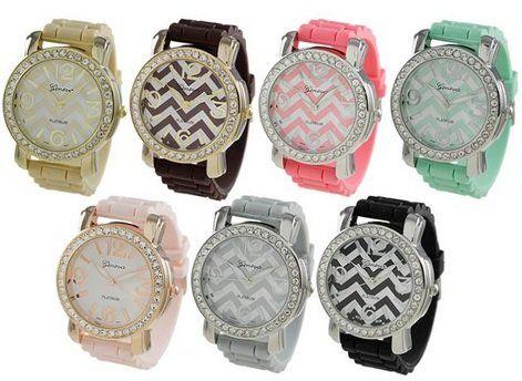 Chevron Print Watches