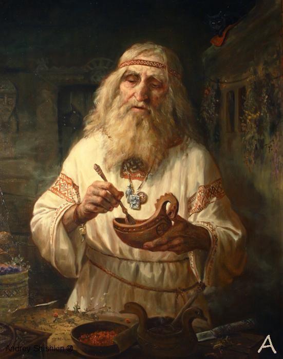 Herbalist, SHISHKIN ANDREY ALEKSEEVICH