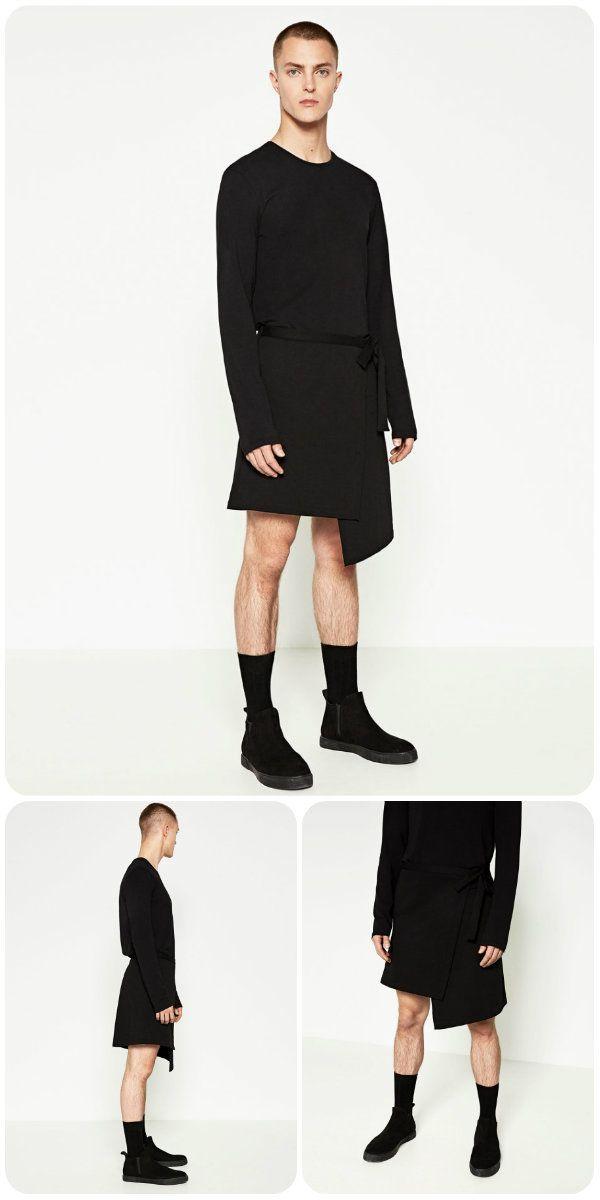 Jupe pour homme chez Zara