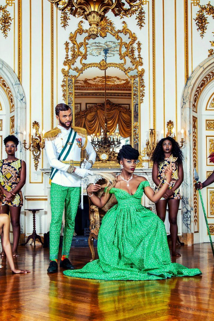 african photoshoot jidenna west royalty classic inspired level takes beauty attire huffpost fabric visit couple