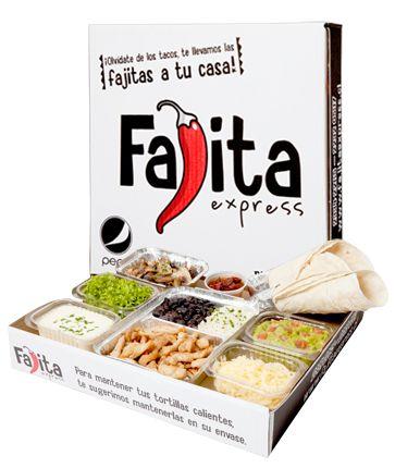 Fajita Express | Reparto a Domicilio de Comida Mexicana!