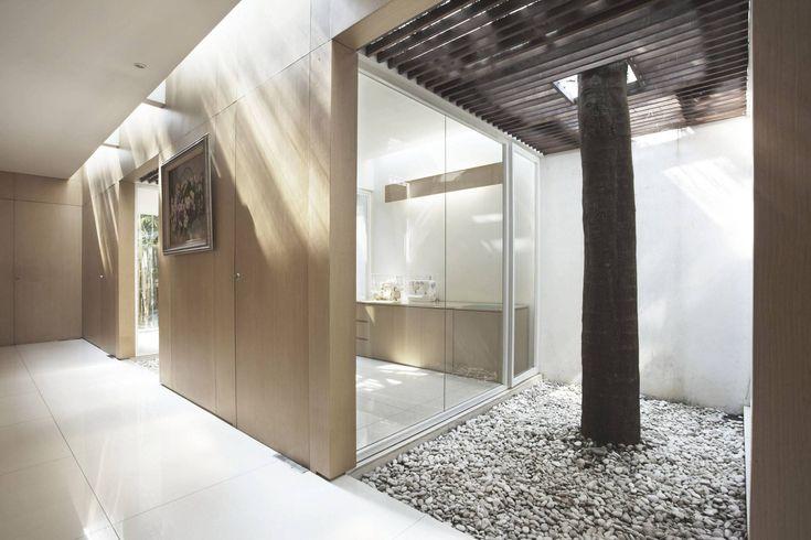 Photo EW House - Indoor Garden Area EW House 5 desain arsitek oleh Antony Liu + Ferry Ridwan / Studio TonTon - ARSITAG