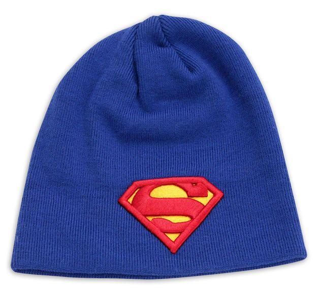 Superman 3D Logo Beanie