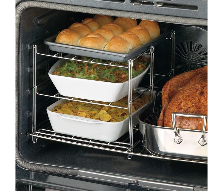 Nifty 3-Tier Oven Companion | CHEFScatalog.com