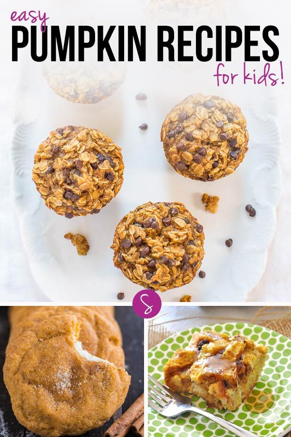 So many Easy Pumpkin Recipes for kids to make we can't decide whether to start with the Snickerdoodles or the French Toast!