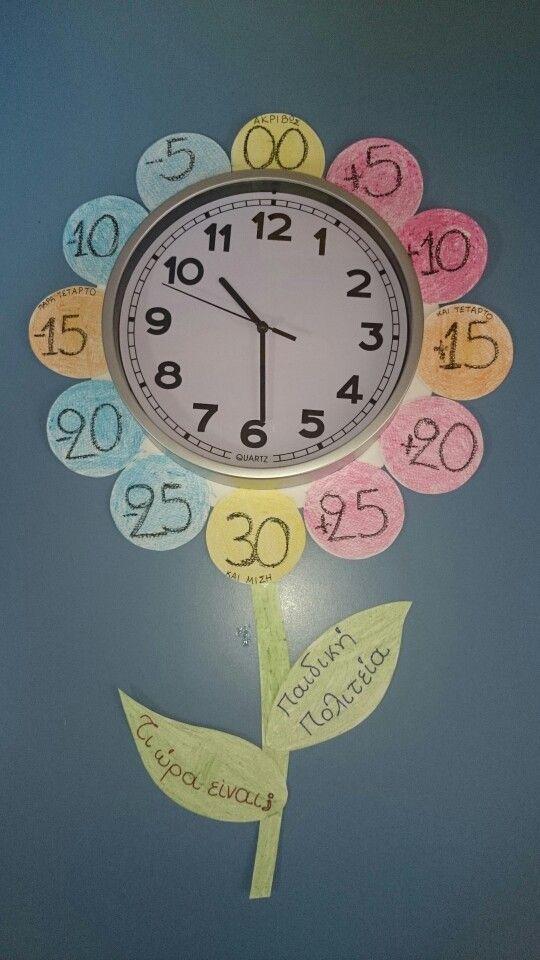 Το ρολόι μας