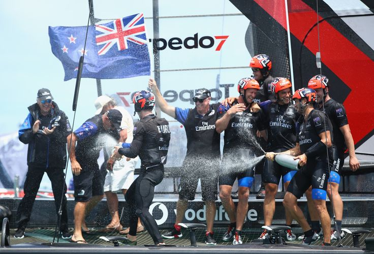 June 27 2017 -  Emirates Team New Zealand bury the demons of 2013 defeat to Oracle Team USA in crushing 7-1 victory to secure 35th America's Cup