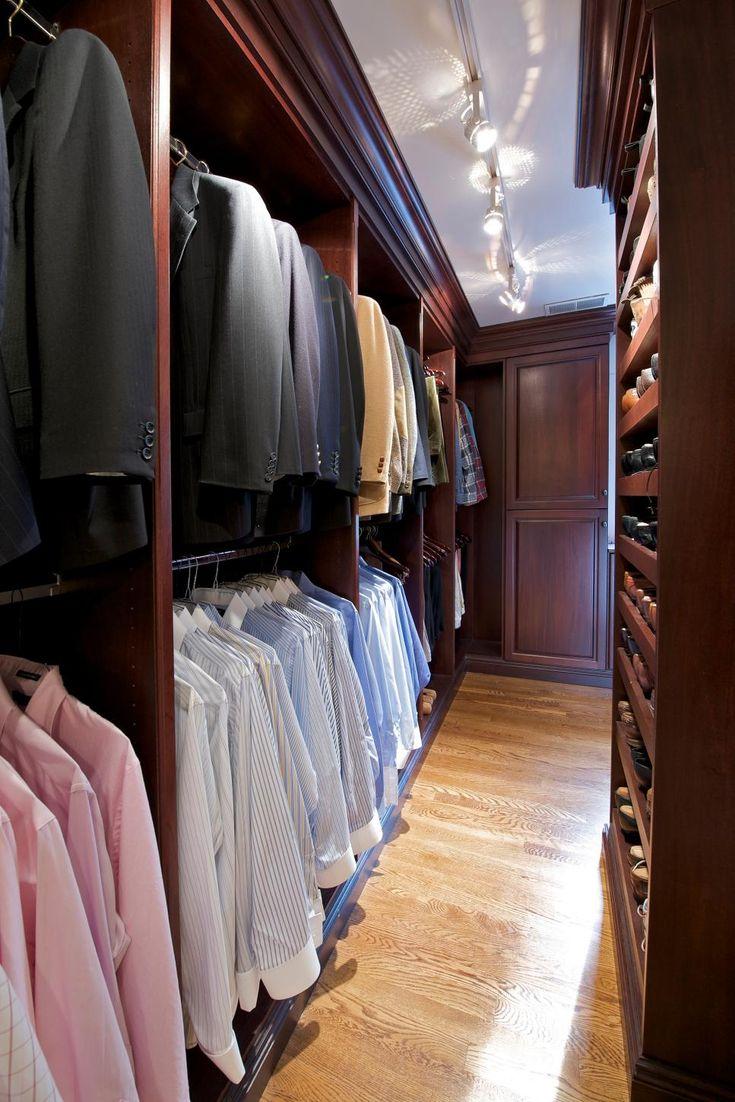 16 Stylish Men S Walk In Closet Ideas