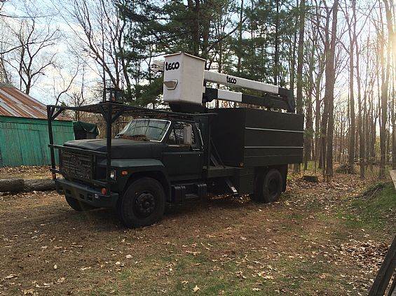 1985 Ford F700 Bucket/Chipper Truck OtherVans Trucks For Sale in Burnt Hills, NY A00001 | Want Ad Digest Classified Ads
