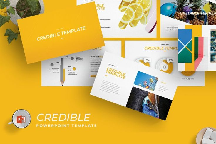 Credible Powerpoint Template