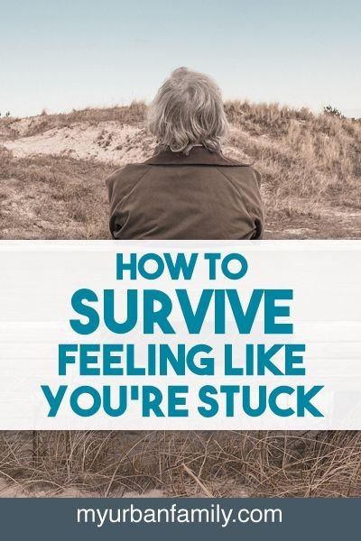 Feeling stuck is never an easy place to be. When you feel like you're stuck, use these suggestions to break out of your rut!