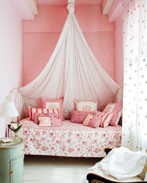 Las 25 mejores ideas sobre camas con dosel en pinterest y - Camas pegadas ala pared ...