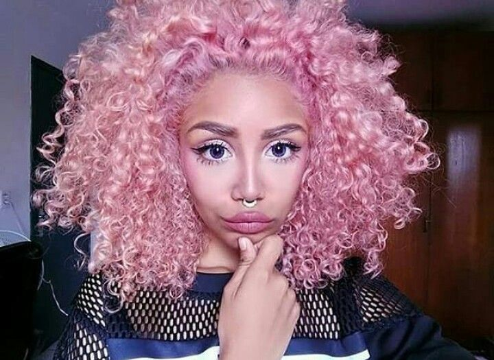 Natural Curly Styles For Black Hair: Best 25+ Colored Natural Hair Ideas On Pinterest