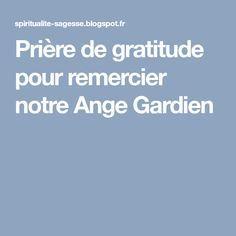 Prière de gratitude pour remercier notre Ange Gardien