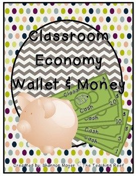 Free Resources I found to use a classroom economy as a class management system.