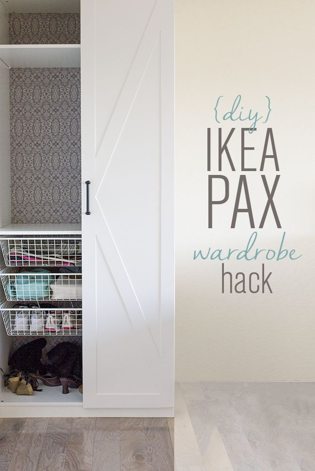 Jenna Sue: Master Makeover: Ikea Pax Door Hack ...with tips on painting Ikea laminate furniture