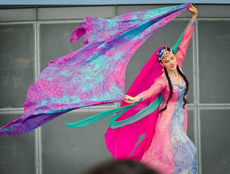 Traditional Persian Dancer