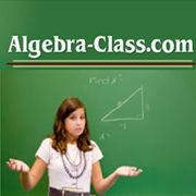 #Algebra lessons with detailed examples and videos designed and taught by a teacher. #math