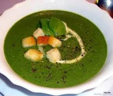Špenátová/Spinach soup