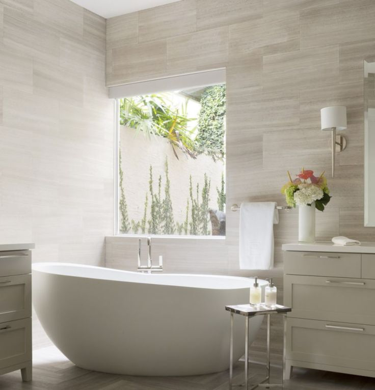 This stunning white bathroom was completed by @kwdesignstudio. #luxeFL