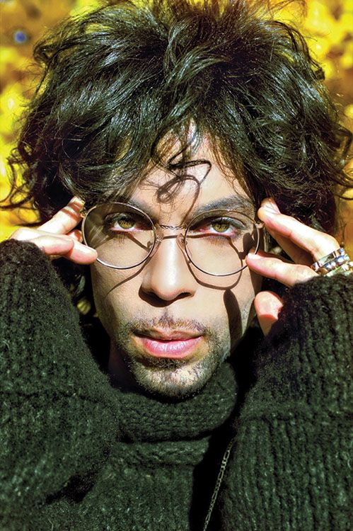 American singer-songwriter, multi-instrumentalist, and record producer, Prince photographed in the park, October 1999. Prince went on to release 37 studio albums and have 5 number one singles in the USA