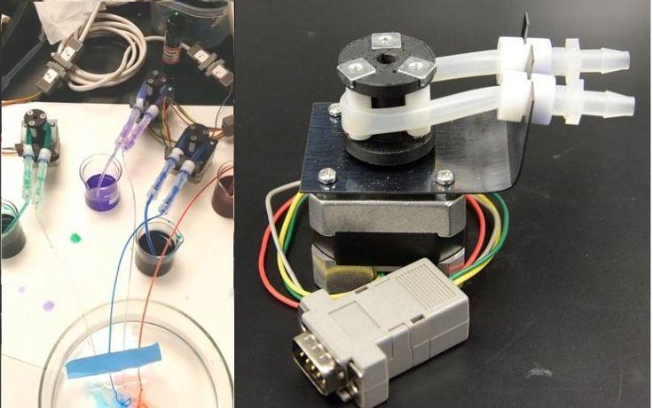 University Peristaltic Pump Has Hacker Heritage   Hackaday