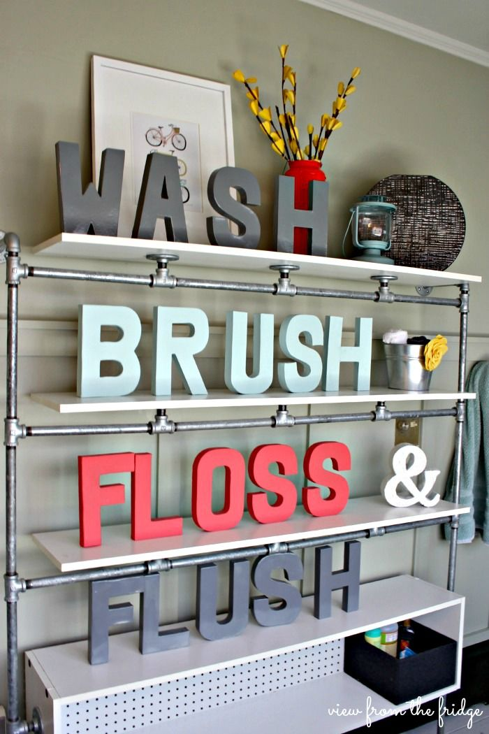 DIY:: Budget Bathroom Updates    Love this Post ! by View From The Fridge
