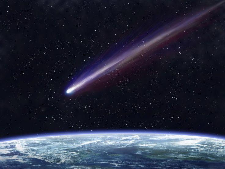 Calma, não precisa se assustar, não se trata do fim do mundo, e sim de um belo fenômeno que poderá ser observado a partir deste mês. A passagem do cometa Halley pela terra vai provocar chuva intensa de meteoros, partir da cauda de escombros do cometa. O fenônemo vai acontecer a partir de 20 de abril