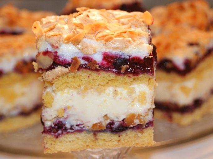 """Prăjitura poloneză """"Pani Walewska"""" — un desert aspectuos și nemaipomenit de delicios! - Retete-Usoare.eu"""