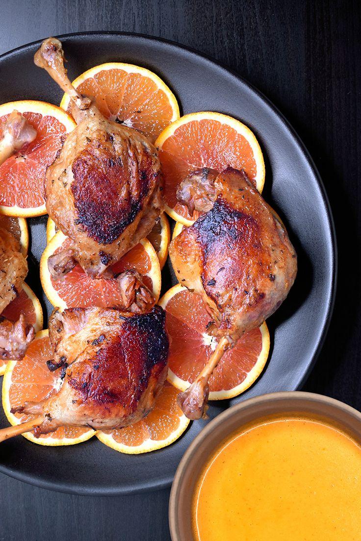 Instant Pot (Pressure Cooker) Orange Duck + Gravy by Michelle Tam / Nom Nom Paleo https://nomnompaleo.com