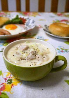 簡単☆白菜と鶏もも肉/鶏むね肉のクリーム煮