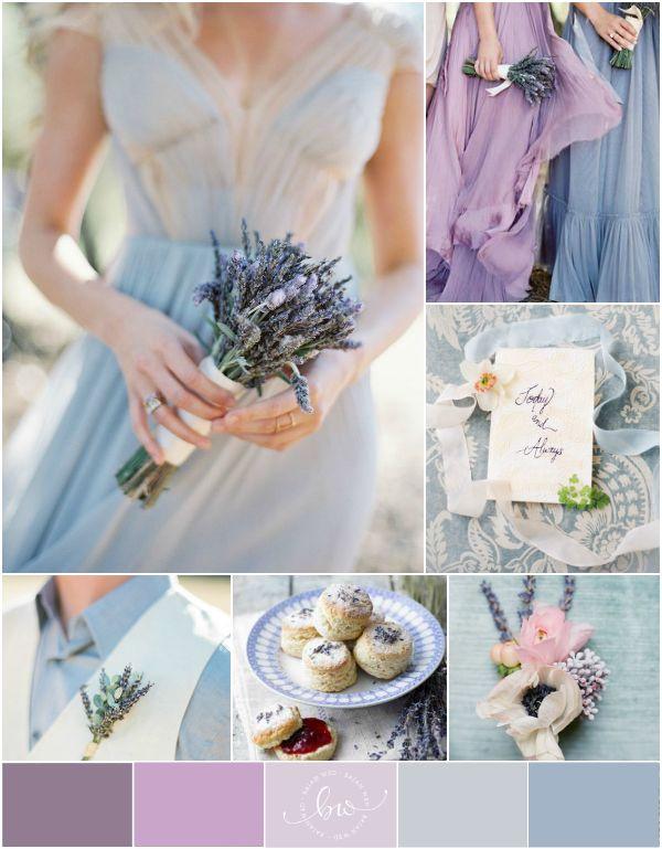 Lavender Wedding Details via @Bajan Wed
