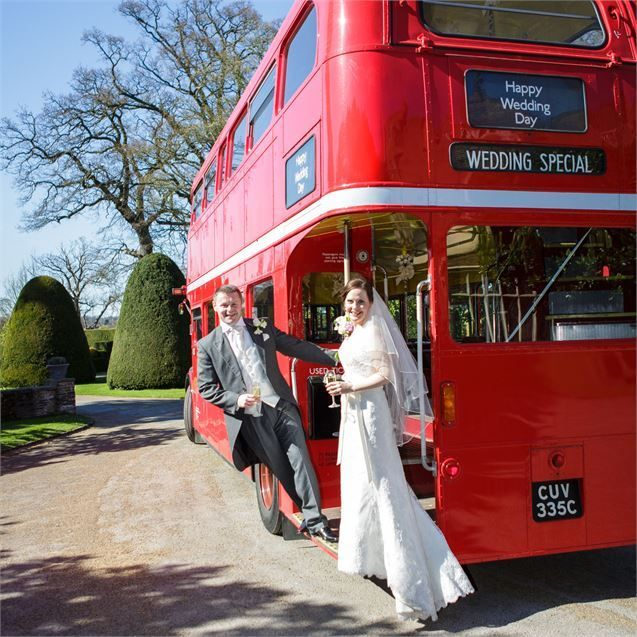Travel in British style on your wedding day!