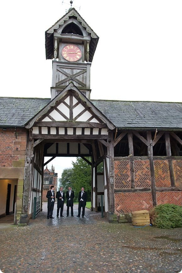 Arley hall clock tower