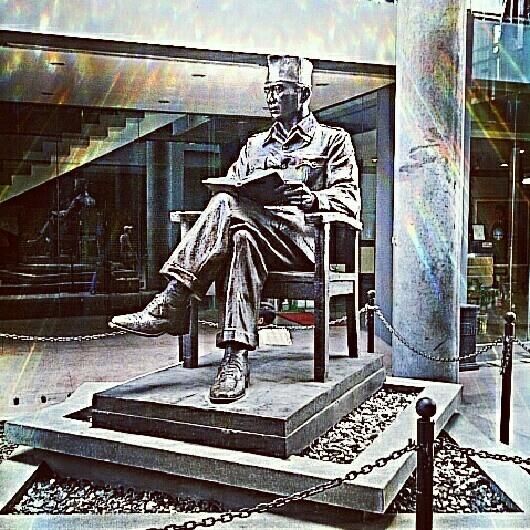 Statue Of Indonesian 1st President, Soekarno, Blitar, East Java