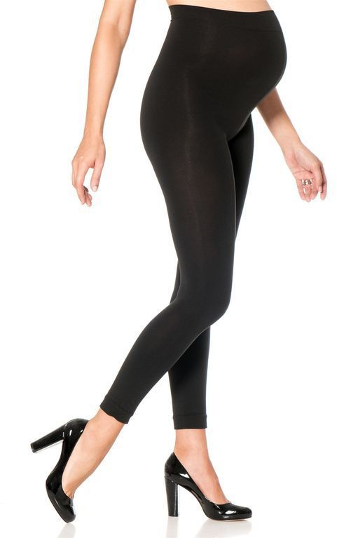 Footless Maternity Tights