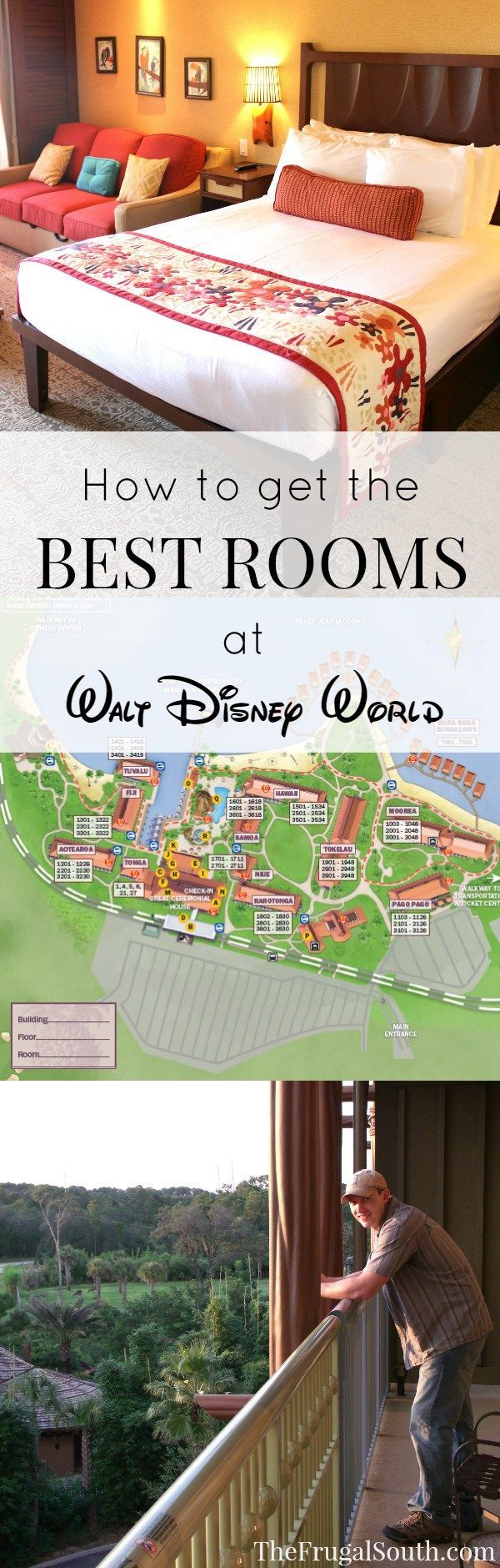 Tips & tricks for getting the best resort hotel rooms at Disney World, including how to make effective room requests and how to research and choose the right room for your travel party.