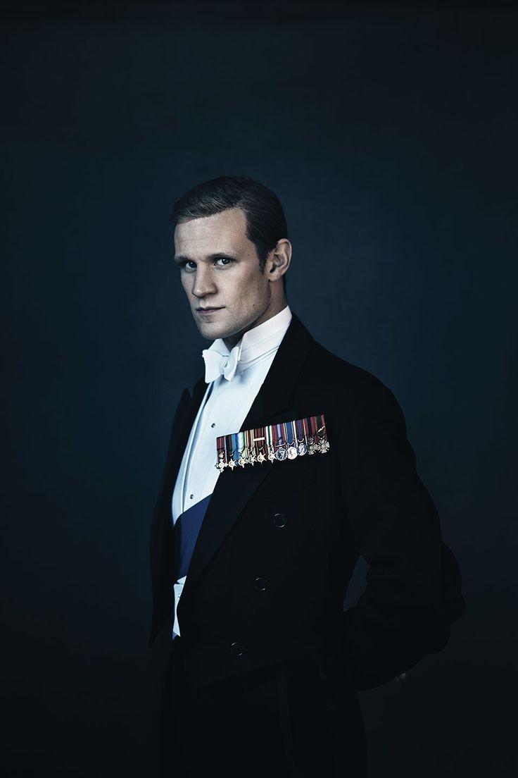 Matt Smith as prince Philip The Stars of Netflix's Royal Drama, The Crown
