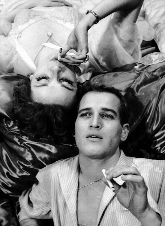 Paul Newman & Joanne Woodward in A New Kind of Love (1963)…