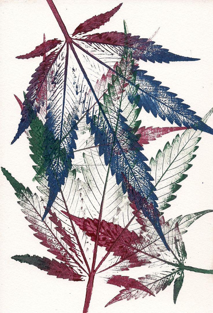 Mother Nature - 2017 an original artwork by pacific wonderland painter: Jurassic Blueberries #art #cannabis #watercolor #oregon #artist