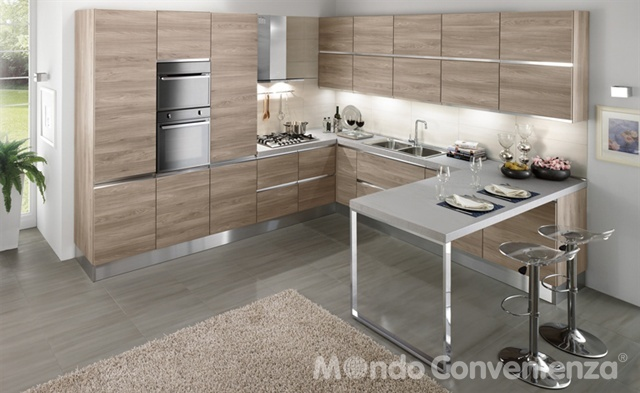 Selly Cucine Moderno Mondo Convenienza home