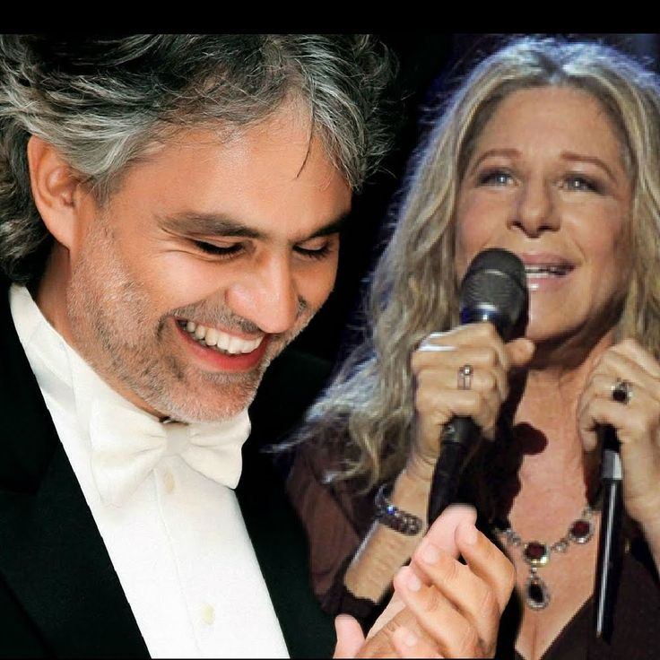 """Barbra Streisand with Andrea Bocelli  """"I Still Can See Your Face"""" if this is on her new album I look forward to hearing it and more....  And if by chance we meet again, a sudden crazy twist of fate, you'll run into my arms, and every shadow of the past, I still can see your face,"""