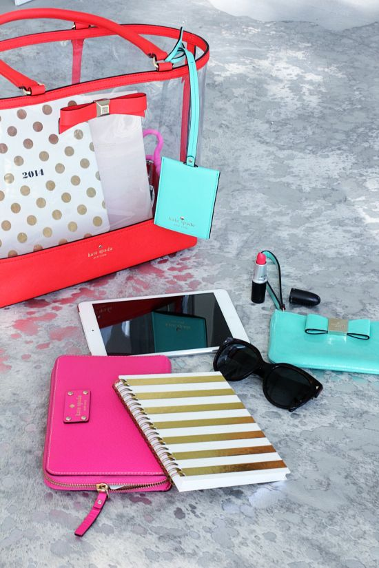 #TravelColorfully with @kate spade new york