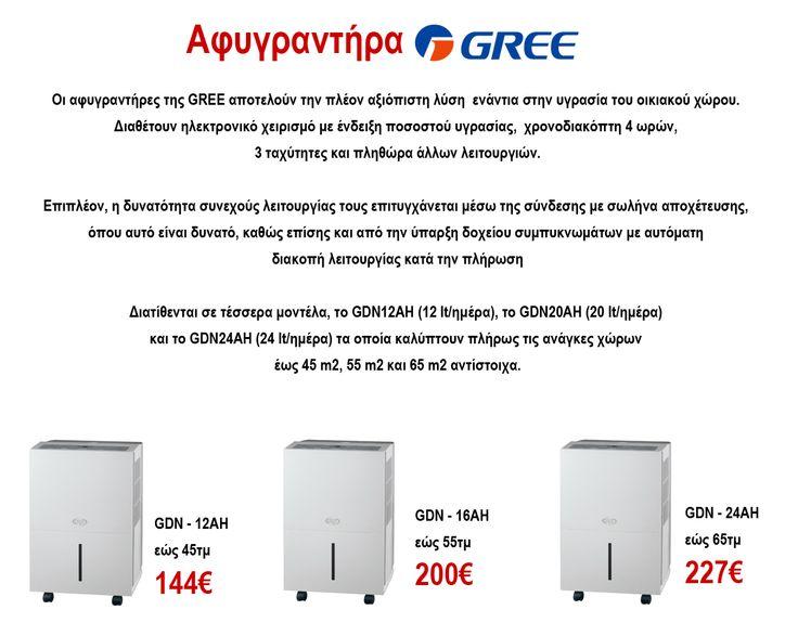 Αφυγραντήρες Gree! Techniki Express GP Τηλ.Επικοινωνίας: 211 40 12 153