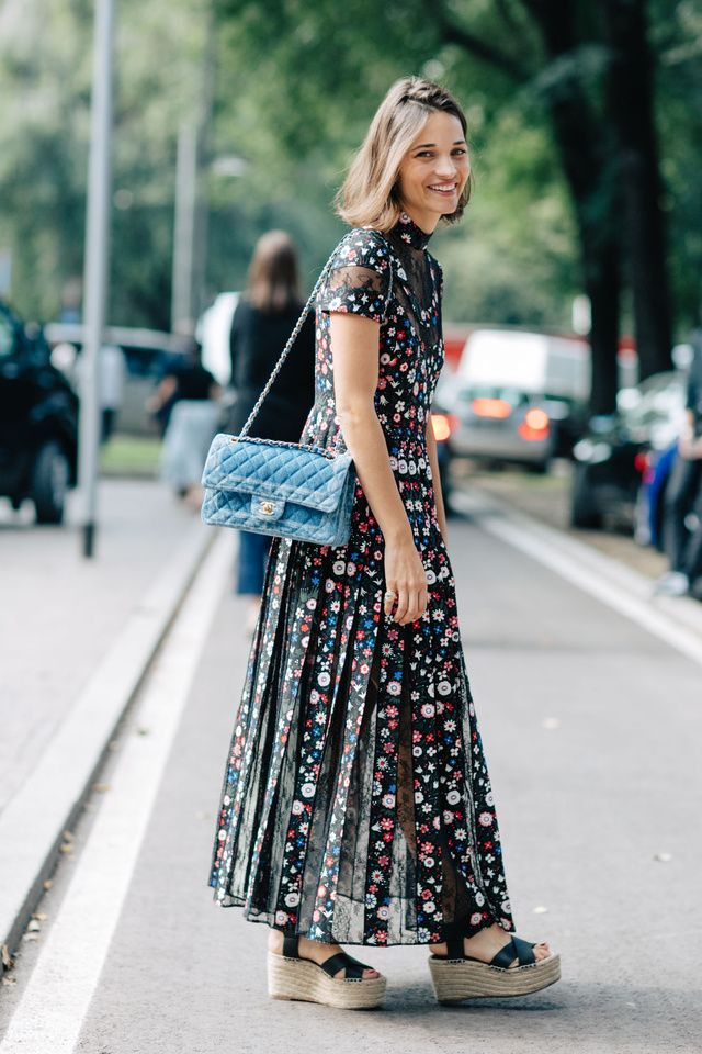 With Milan Fashion Week Spring/Summer 2017 well underway, our photographer Sandra Semburg is out on the street capturing the best looks.