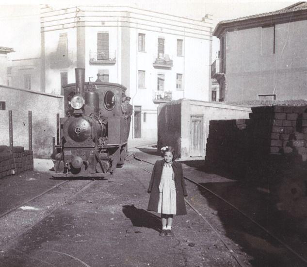 La Panderola por Castelló de la Plana a principios de los años 50