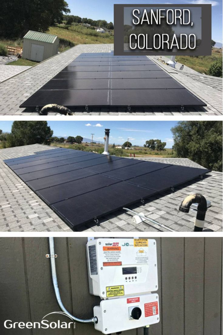 Joe Of Sanford Co Is Another Satisfied Homeowner Who Has Gone Solar With National Solar Installer Green Sola Solar Panels Solar Energy Panels Solar Technology