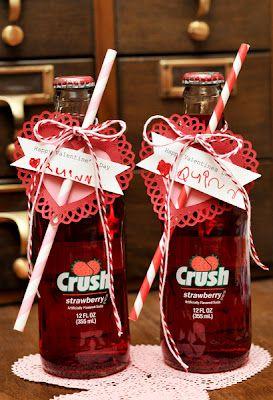 Valentine Crush soda pop